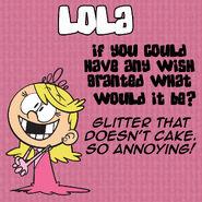 Lola Q&A Wish