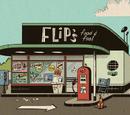 Еда и бензин у Флипа