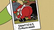 S2E01 Lisa's photo of Santa