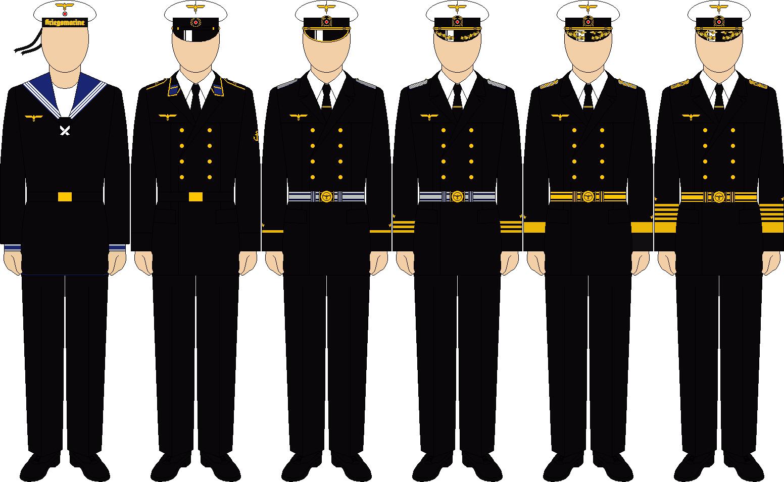 Kriegsmarine winter parade dress by thefalconette-d5audqd