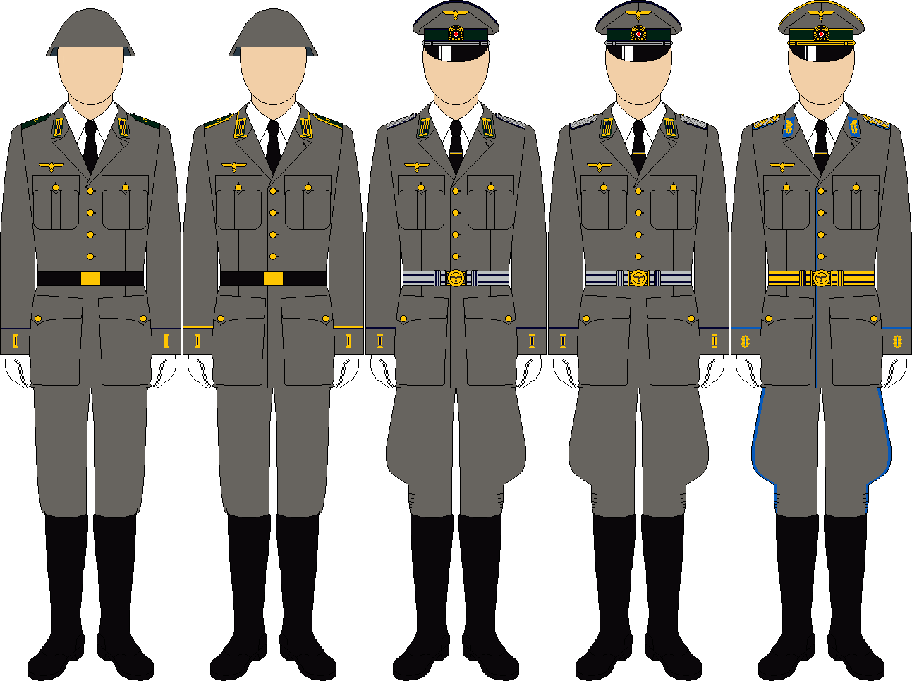 Kriegsmarine coastal service parade dress by thefalconette-d5cyckq