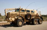 Buffalo mine-protected vehicle