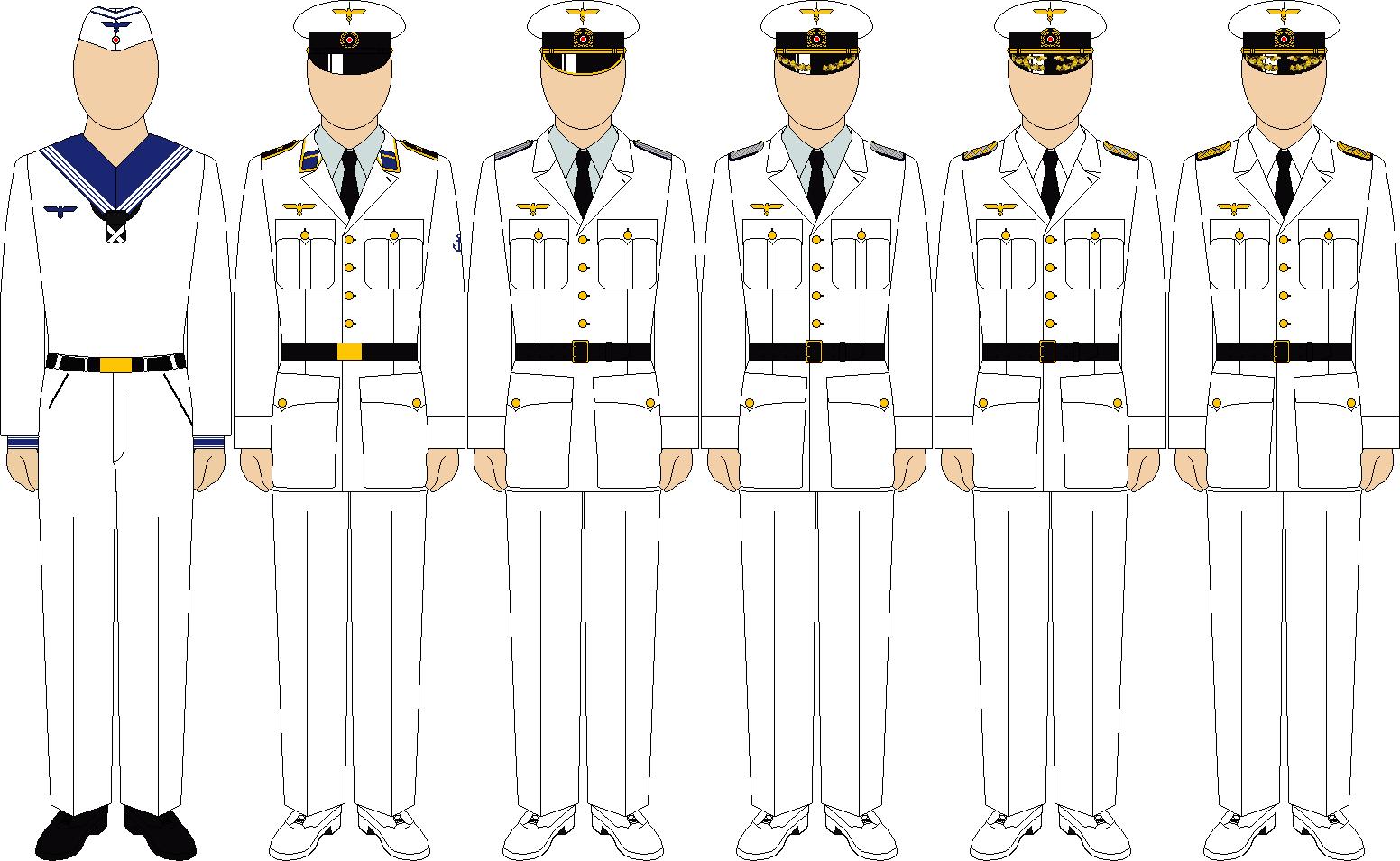 Kriegsmarine summer mission uniforms by thefalconette-d52po6s