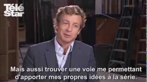 Interview de Simon Baker pour la saison 5 de Mentalist (TF1)