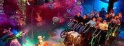 Universal Studios E.T. Adventure Ride Inside