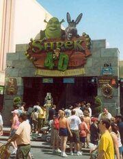 Universal Studios Shrek 4-D Entrance