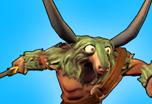 Creatures Profile Goatman Boomerang