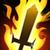 Hero Buff Fiery Weapon