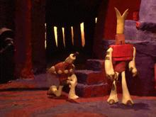 Klaymen revives Hoborg