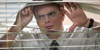 Locked Dwight inside