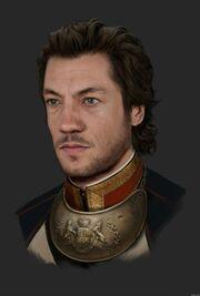 Marquis de Lafayatte Portrait