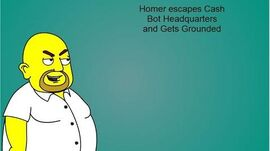 Homer escapes CBHQ and gets grounded (full)