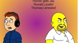Homer gets Jay Ronald arrested Sent to CBHQ