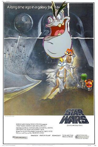 File:Star Wars (Disney and Sega Style) Poster.jpg