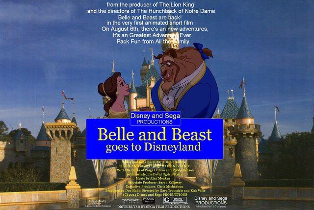 File:Belle and Beast goes to Disneyland Poster.jpg