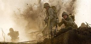 SGT. John Basilone in Iwo Jima
