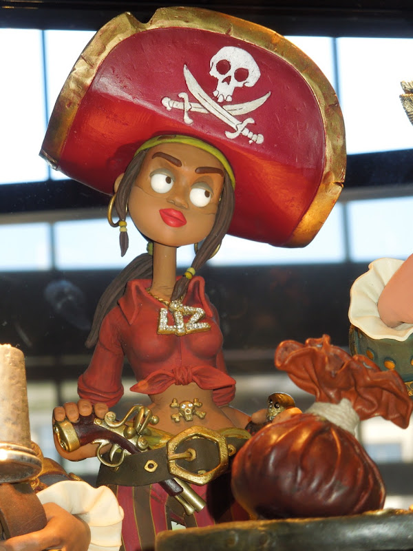 Image Cutlass Liz Pirates Claymation Model Jpg The