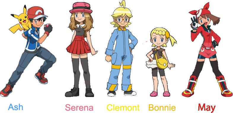 Pokemon And Y Cartoon Characters : Pokemon cartoon series characters ankaperla