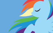 16221 - artist-megasweet rainbow dash wallpaper