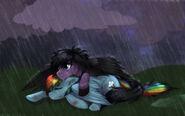 Skywind and rainbow dash by rizcifra-d3ekrqx