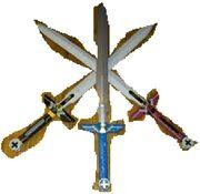 Aries' swords