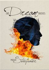 The Dream Thieves, Nook cover