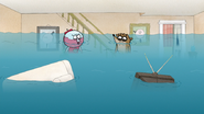 S8E23.415 Rigby Flooding the House