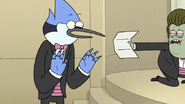 S6E28.096 Muscle Man Wants Mordecai to Read the Letter