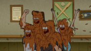S5E36.093 The Crowd Loves the Mud