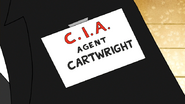 S6E08.082 Agent Cartwright's Badge