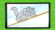 S7E07.095 Trapeze Kitty