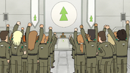 S8E15.019 The Cadets Cheering