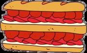 Double sandwich of death