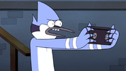 S6E01.152 Mordecai Going to Destroy the Tape