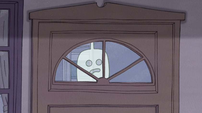 Image SE HFG Looking Out The Front Door Windowpng - Front door window