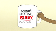 S7E06.054 World's Greatest Mordecai Mug
