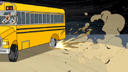 S4E24.114 The Bus Popping Its Back Tire