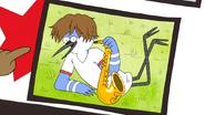 S5E18.16 Mordecai's Saxophone