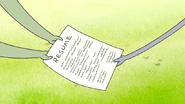 S7E08.163 Muscle Man Handing His Resume to Benson