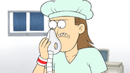 S6E26.187 Jerry Inhaling Anesthesia