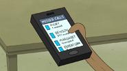 S7E01.009 Mordecai's Missed Calls