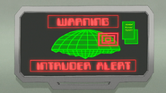 S8E23.456 Warning Intruder Alert