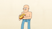 S4E13.006 A Bald, Shirtless Guy