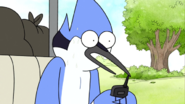 S03E16.030 Mordecai After He Accidently Sends The Message