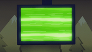 S7E02.115 Green Static Screen