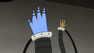 S6E24.427 Mordecai and Rigby's Hand in the Air