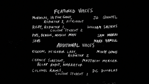 S8E03 Welcome to Space Credits