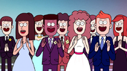S7E27.111 Everyone Clapping for Rigby and Eileen