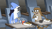 S6E26.159 Mordecai and Rigby Eating Lunch
