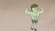 S5E11.046 Muscle Man Posing and Explaining 02
